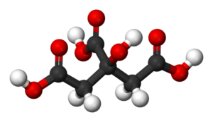 فرمول سیتریک اسید