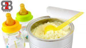 شیر مادر در با مقایسه با شیر خشک